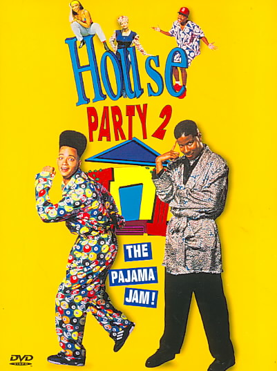 HOUSE PARTY 2:PAJAMA JAM BY KID 'N PLAY (DVD)